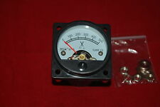 DC 0-500V Analog Voltmeter Analogue Voltage panel meter SO45 directly Connect