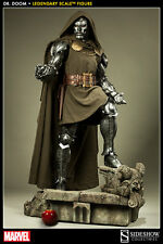 Marvel: Sideshow: DR DOOM Legendary Scale statue - RARE (wolverine/thor/x-men)