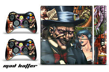 Skin Decal Wrap for Xbox 360 E Gaming Console & Controller Sticker Design MDHTTR