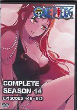 One Piece Episodes 449-512 in English / Japanese Season 14 on 6 Dvd Anime