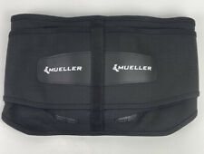 """Mueller 255 Lumbar Support Back Brace with Removable Pad Black Regular 28"""" - 50"""""""