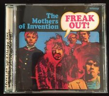 Freak Out Frank Zappa & The Mothers of Invention Audio CD