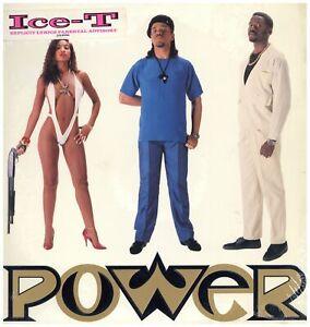 Ice-T - Power '88 LP US ORG!! Afrika Islam Donald D