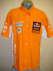 KTM Racing Factory Team Red Bull Orange Shirt (Size XL)