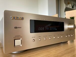 TEAC T-H500 AM/FM RDS TUNER CHAMPAGNE FINISH VGC GWO