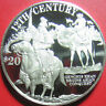 1997 COOK ISLANDS $50 SILVER PROOF GENGHIS KHAN ASIAN CONQUEST HORSE CAMEL RARE!