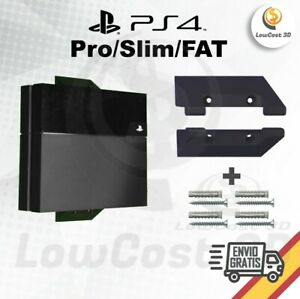 Soporte anclaje base de pared para PS4 FAT Slim Pro
