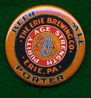 Erie STYLE Pennsylvania Brewing Co RP **PIN**  Beer Ale Advertising