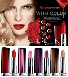 "Maybelline NEW YORK Color Sensational Lipstick, 108 Colors ""You Choose"""