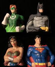 MONOGRAM INTERNATIONAL & DC COMICS Wonder Woman, Superman, Batman, Green Lantern