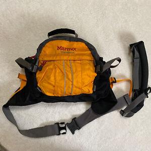 EUC! Marmot Walkabout Convertible Waist Bag Hiking Outdoor Backpack Belt Fanny