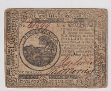 Very Pleasing $6 Colonial Currency Continental 1776