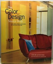 The Color Design Source Book Using Fabrics, Paint Accessories Decorating