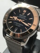 Breitling SuperOcean II 46 Special Edition 18k Rose Gold Bezel Swiss Chronometer
