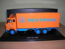 Ixo volvo f88/F 88 deutrans RDA transportista 1969, 1:43 tru013