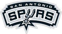 """San Antonio Spurs NBA Color Die Cut Vinyl Decal Sticker - You Choose Size 2""""-50"""""""