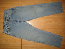 7863 used blue levi's 501 high waist jean stonewash 30x28 for women made in USA