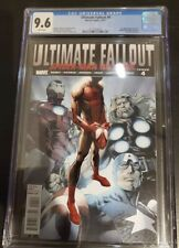Ultimate Fallout #4 (2011) 1st Appearance of Miles Morales [CGC 9.6]