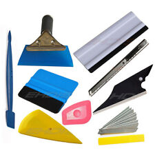8 PCS Car Vinyl Tools Wrapping Applicator Window Tint Film Squeegee Knife Kit US