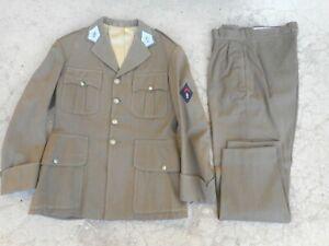 """ancienne tenue militaire de sortie infanterie veste et pantalon année 50"""" 60"""""""
