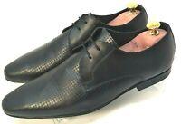 Kurt Geiger Shoes Men Size 8 UK Black Leather Brogues Lace up Work Formal Career