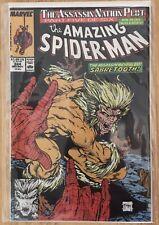 Amazing Spider-Man #324 NM (1989, Marvel) SABRETOOTH Todd McFarlane NEVER READ!