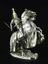 The Black Prince KIT Tin toy soldier 75 mm. metal