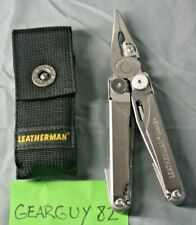 Leatherman Wave Plus Multi Tool with Black Nylon Sheath pouch - Stainless B-90