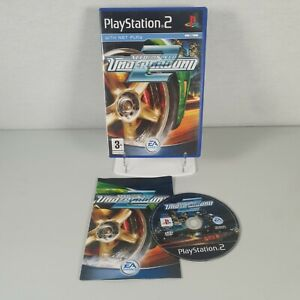 Need For Speed NFS Underground 2 Playstation PS2 Racing Video Game Manual PAL