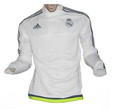 Real Madrid Trainingstop Felpa WHITE 2015/16 ADIDAS XXL