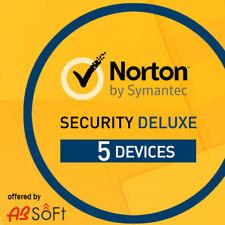 Norton Security Deluxe 2020 5 PC 5 Appareils 1 An   2019 FR