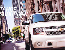 2013 Chevrolet Chevy Tahoe and Suburban 40-page Original Sales Brochure Catalog