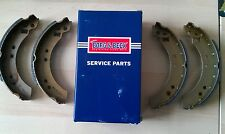 REAR BRAKE SHOES SET of 4  for FORD CAPRI MK 2 & MK 3-1974 -1988 - BORG & BECK