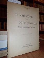 Le vergogne del confessionale  -  ABBATE ***  -  1905