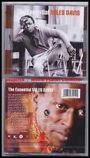 "MILES DAVIS ""The Essential"" (2 CD) 23 titres 2001 NEUF"