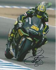 Cal Crutchlow signed Moto GP 10x8 photo Image J UACC Registered Dealer