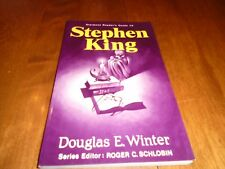 Reader's Guide to Stephen King Vol. 16 by Douglas E. Winter (1982, SC)