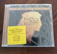 The Prince of Egypt Soundtrack Music CD Mariah Carey&Whitney Houston NOS BIN#A4