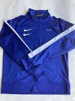 Nike Double Swoosh Polyknit Track Jacket Royal Blue CJ4884-455 Men's Medium