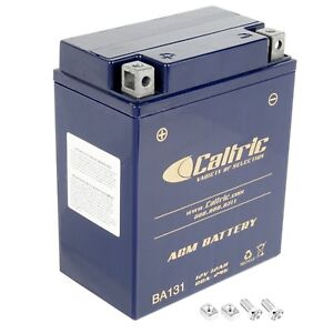 AGM Battery for Yamaha Timberwolf 250 YFB250 2WD 1992-1998