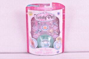 Twisty Petz Babies 4 - Pack Puppies & Pandas Collectible Bracelet Set