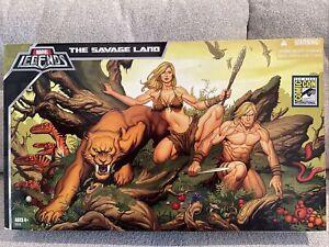 2008 SDCC Marvel Legends Savage Land Set Ka-zar Shanna Zabu Rare X-Men Hasbro