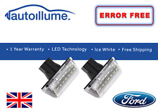 Ford Transit Mk6 Mk7 Connect Van LED Number Plate Light Units Canbus Compatible