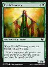 Elvish Visionary X4 NM Commander 2015 MTG  Magic Cards Green Common