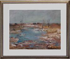 Maler Franz Deselaers 1912-1989-verzeichnet-Die Taiga in Russland 1983 --590xxx