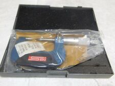 "SPI Tube Micrometer 0-1/"" Measurement Range 0.15/"" Head Dia 0.0001/"" Grad 12-467-7"