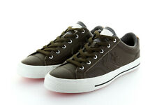 Converse Cons Star Player Ox Cocoa Brown Grey Leather Gr. 42,5 / 43,5 US 9