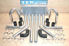 Ladeluftkühler SET *NEU* 33tlg Kit: LLK 55x23,Rohre 64 mm,Sch.,Bögen,Schläuche s