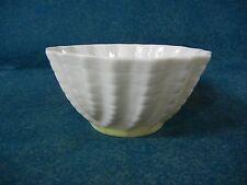 Belleek Ireland Double Shell / Limpet Yellow Open Sugar Bowl(s) Green Mark