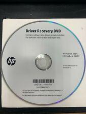 NEW HP Driver Recovery DVD for HP ProDesk 600 G1 Elite Desk800 G1 Windows 7
